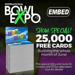Bowl Expo card promo
